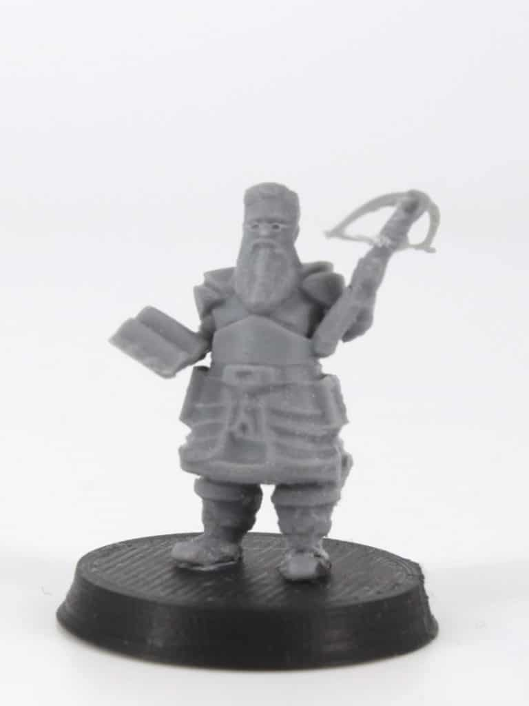 ostead dwarf cleric with book and crossbow 3d printable tabletop miniature photograph