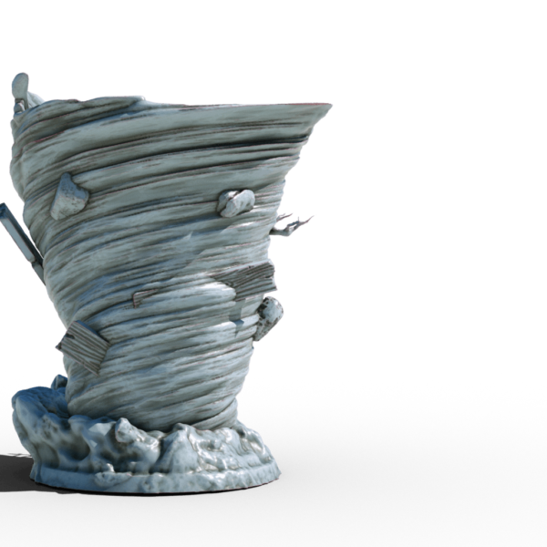 tornado 3d printable tabletop miniature