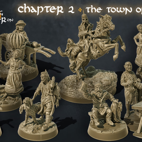 chapter 2 the town of breie the printing goes ever on september 2020 patreon release product image